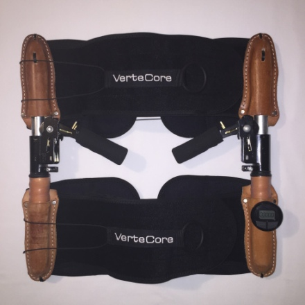 VerteCore Lift - Close Up - Brown on Black